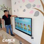 Cung cấp và lắp đặt màn hình cảm ứng OneTech tại Bắc Ninh