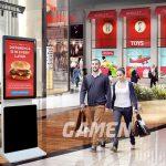 Cho thuê màn hình quảng cáo chân đứng uy tín nhất Hà Nội 0965 345 186