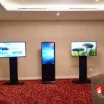 """Onetech cho thuê LCD chân đứng tại """"Nước Nga 2020-Món quà EURO"""""""