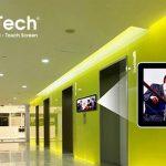 """Vị trí """"vàng"""" để lắp đặt màn hình LCD quảng cáo tại siêu thị"""