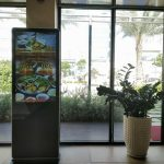 Thi công giải pháp màn hình LCD đứng tại Cafe Casa TP Hồ Chí Minh