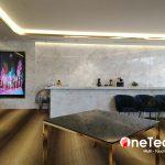 Thi công màn hình LCD treo tường 86 inch Android tại TP HCM – OneTech