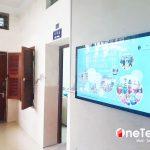 OneTech cung cấp màn hình LCD treo tường 49 inch tại Đại học KHXH&NV