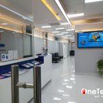 Dự án cung cấp màn hình LCD treo tường tại Bệnh Viện CarePlus – HCM